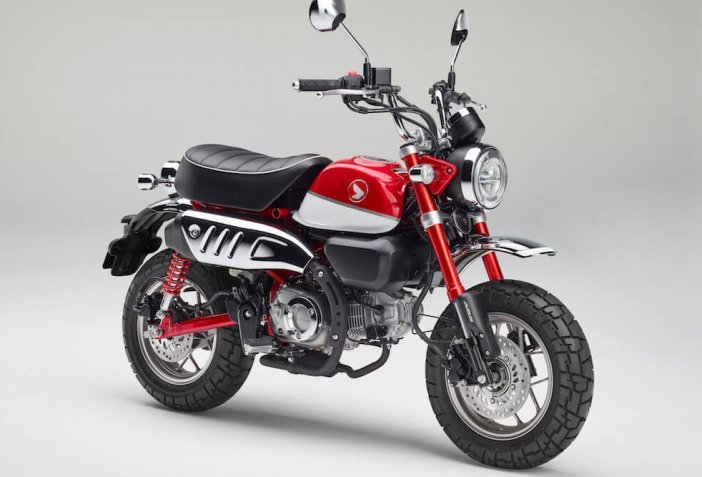 Honda monkey 2018 rood