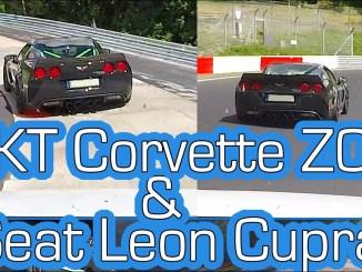 Fun Lap with Bahram - TIKT Corvette Z06 + Leon Cupra - Nürburgring Nordschleife 2K