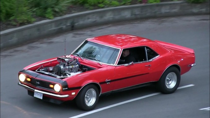 Sound of muscle cars and street machines
