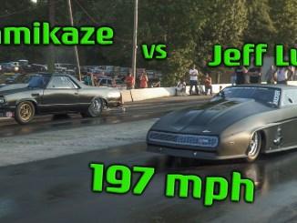 Street Outlaws Juff Lutz vs Kamikaze Chris