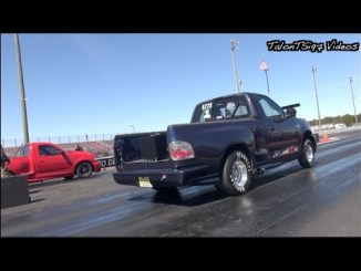 Two Fast Ford Lightnings Crash Import Event!
