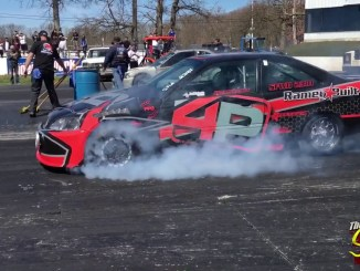 Hondas and Acuras- turbo and all motor - BURNOUTS!