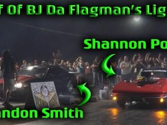 Shannon Poole VS Brandon Smith In Anonymous  BJ Da Falgman's Flashlight at Pickwick Dragway  (4k)