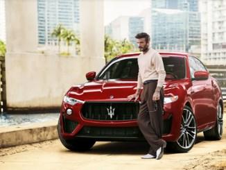 David Beckham is Now a Maserati Brand Ambassador
