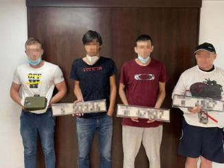 Dubai Supercar Thieves Used Fake License Plates For Smuggling