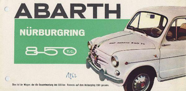 Abarth 850 TC Nürburgring