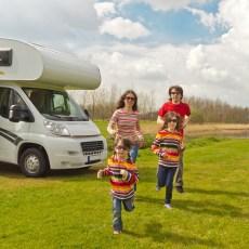 Niños más caravana, ¿buena opción?