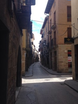 Narrow street in Olite
