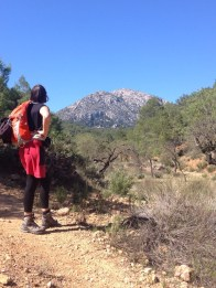 More to climb yet, Sierra Espuña
