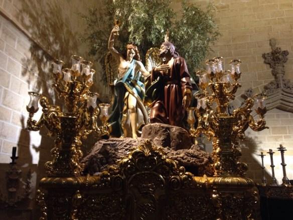 Getting ready for Semana Santa, Iglesias de San Pablo