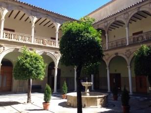 Internal courtyard, University, Baeza
