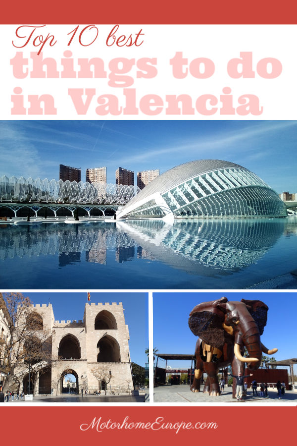The top 10 best things to do and best sights to see in Valencia, Spain. This fascinating city takes you from historic monuments, walls, castles and churches through to the modern city of the future and top-rated attractions such as the Oceanografic aquarium and the Bioparc. Bests things to do in Valencia. Top 10 sights and activities in Valencia. #Valencia