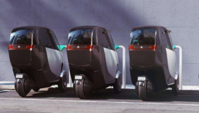 Il nuovo scooter elettrico a tre ruote Nimbus