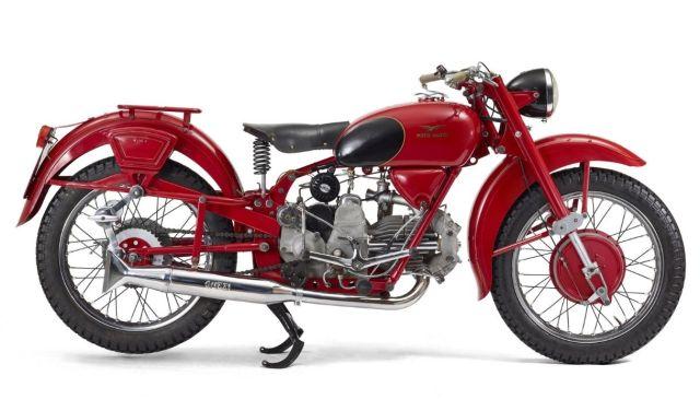 In mostra i cento anni di storia di Moto Guzzi