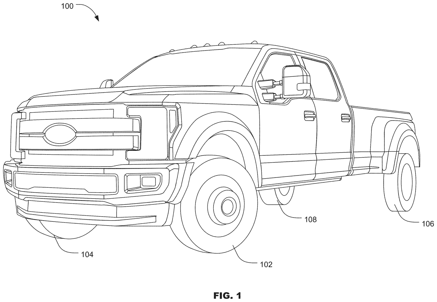 Ford Patents 4 Wheel Steering For F Series Trucks