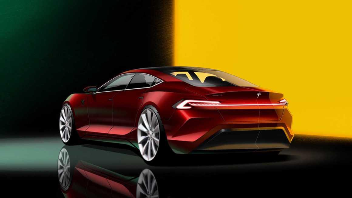 Tesla Model S Rendering Shows Possible Design For Next Generation - Motor  Illustrated