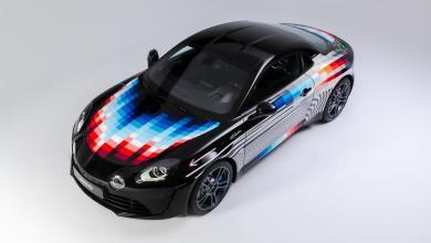 Wild Alpine A110S art car unveiled