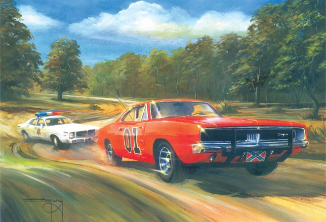 General Lee, Hot Pursuit