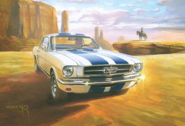 Desert Mustang