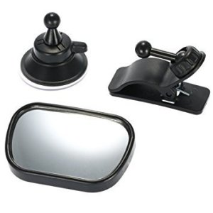 CARA Rear View Baby Car Mirror for a Back Seat without a Headrest