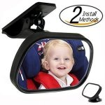 The PnBB baby car mirror for car without a headrest