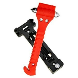 Diageng Car Hammer and Seatbelt Cutter, car escape tool
