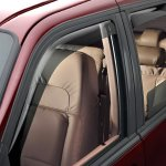 WeatherTech Custom Fit Front and Rear Side Wind Guards, best rain guards for cars