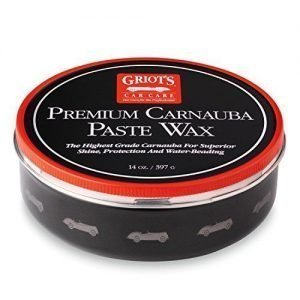 Griot's Garage 11029 Premium Carnauba Paste Wax 14oz, best wax to use on black cars