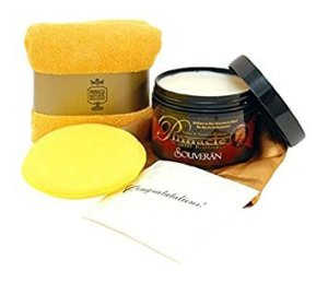 Pinnacle Natural Brilliance Souveran Paste Wax, best polish for black car scratches