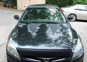 sun's damage on car paint and finish