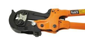 Klein Tools 63RBCHD Heavy-Duty Ratcheting Bolt Chopper with Lockplate reinforcement, best high end bolt cutter