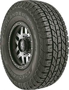 Yokohama Geolandar A T G015 all-terrain radial treads tire, best all terrain tire for traction