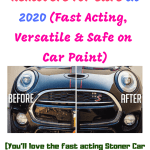 Top 5 Best Tar Remover for Cars (MUST READ before you buy) in 2020