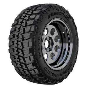 A muddy terrain tire for light trucks made by Federal Couragia, one of the best mud terrain tire