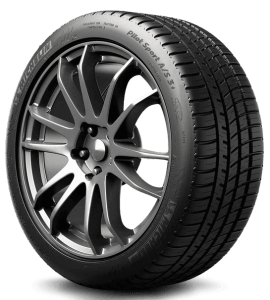 Michelin Pilot sport tire for all season performance, one of the best budget sports tires