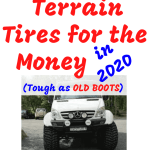 Top 10 Best all Terrain Tire for the Money in 2020 (Tough as OLD BOOTS)