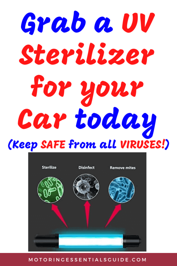 A reviewed list of the best UV sanitizer for car, best portable UV disinfection lamp, best virus killer