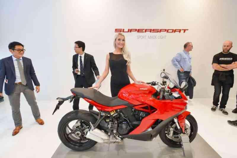 Pressekonferenz Ducati, Ducati Supersport S, Halle 8