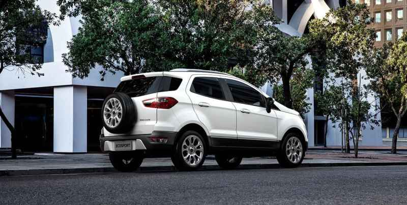 2017 Ford EcoSport Facelift Rear