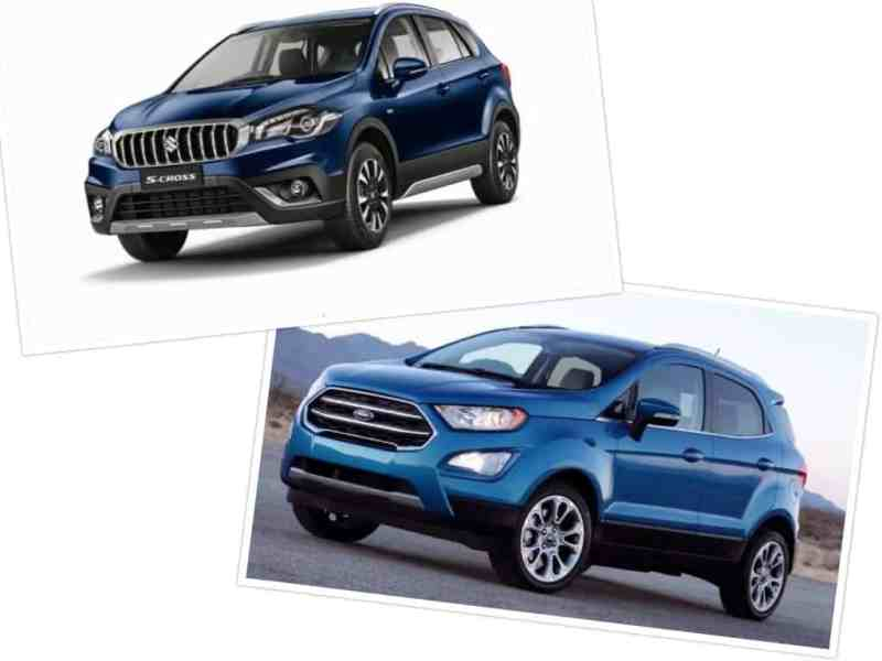 Ford EcoSport vs S Cross Maruti(4)