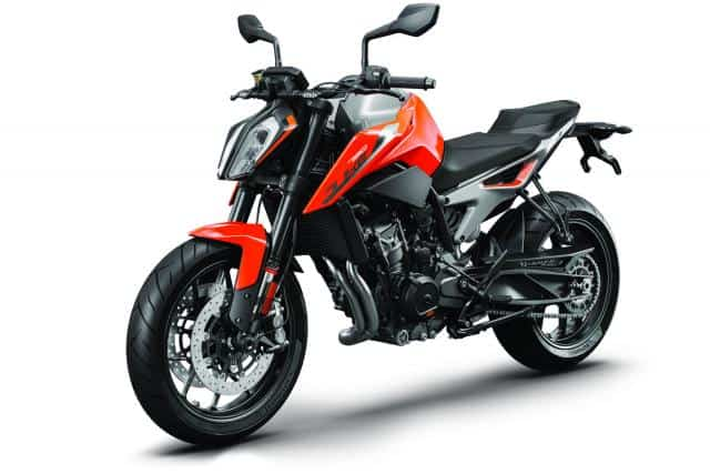 KTM 790 Duke competition