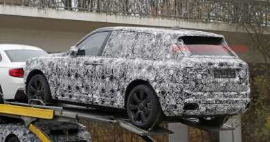Rolls Royce Cullinan Spied (Company's first SUV)