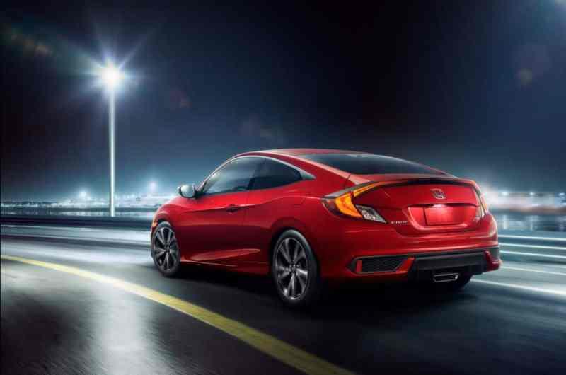 2019 honda Civic rear look
