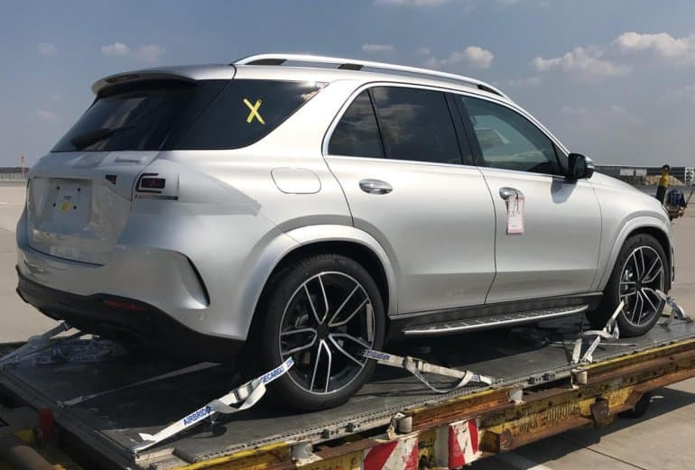 upcoming mercedes gle rear