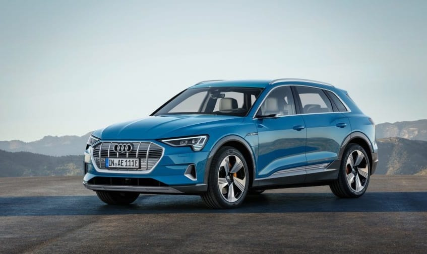 Electric Audi E-tron unveiled