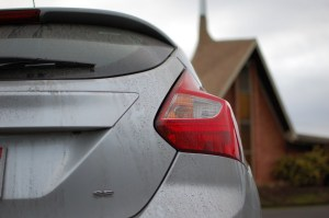 2012 Ford Focus SE Rear Tail Light  Motoring Rumpus