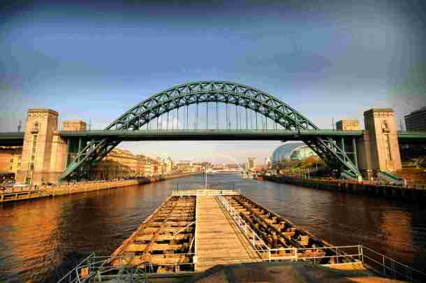 Tyne Bridge, Newcastle. Source: hq-wall.net