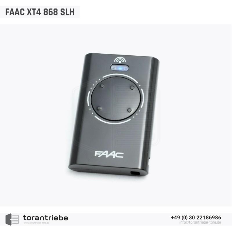 Telecommande Faac Xt4 868 Slh Lrb Noir