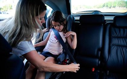 Cadeirinha de bebe no Uber