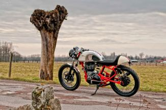 Royal Enfield cafe racer T-Factor Bikes 1